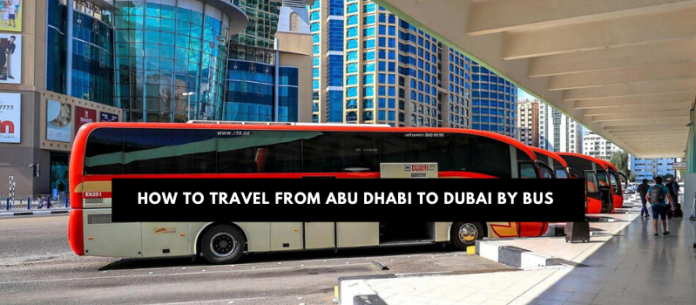 How to travel from Abu Dhabi to Dubai via public transport