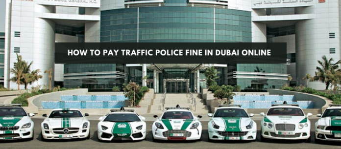 How to pay traffic police fine In Dubai online