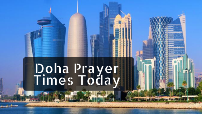 Doha prayer time